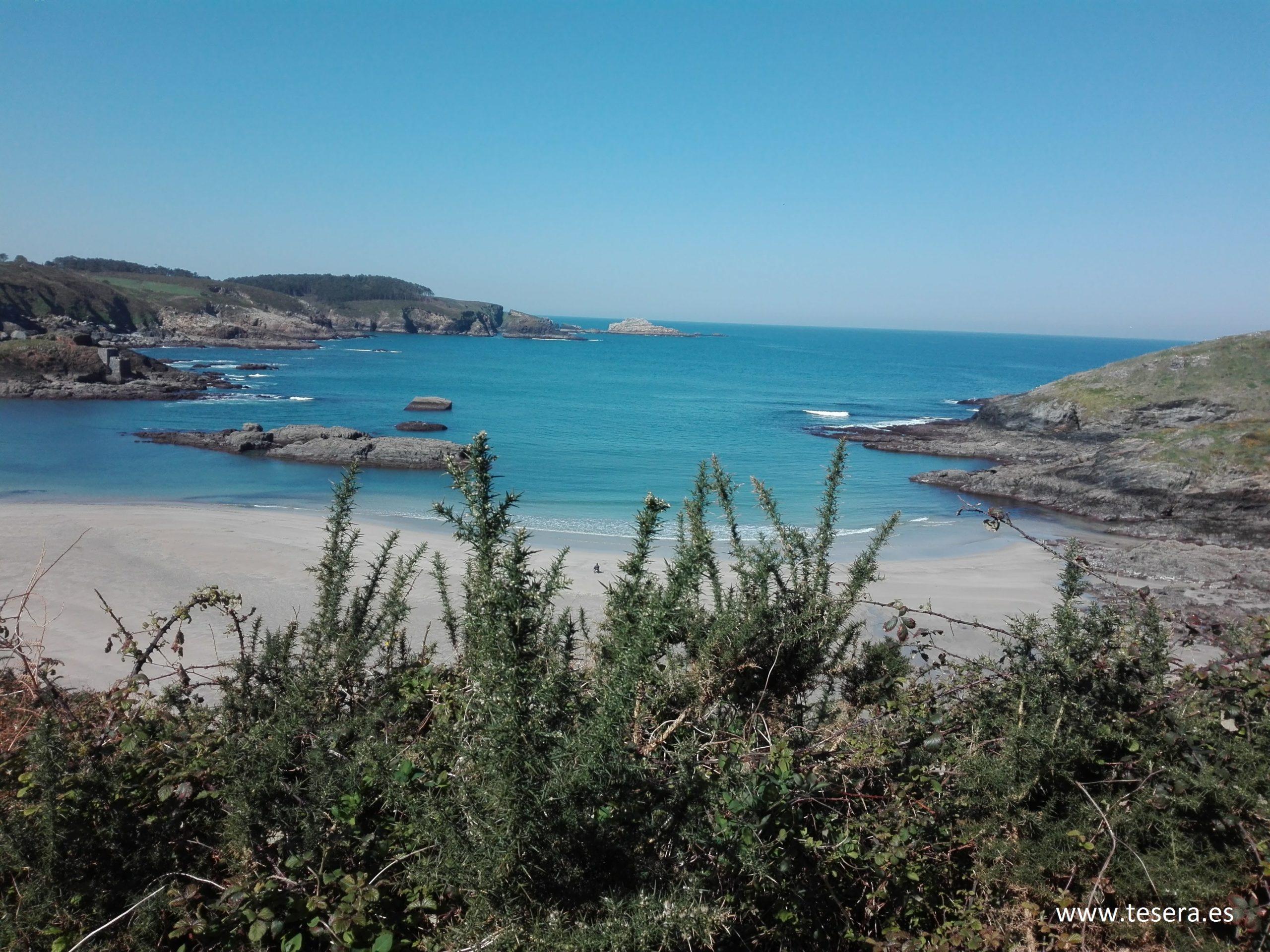 22-Tésera junto a la Playa de Porcía